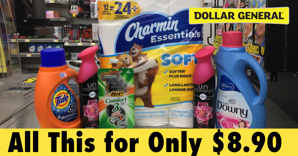 Dollar General 5 Off 25 Coupon Scenarios For April 6th Julie S Freebies