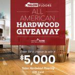 All-American Hardwood Giveaway