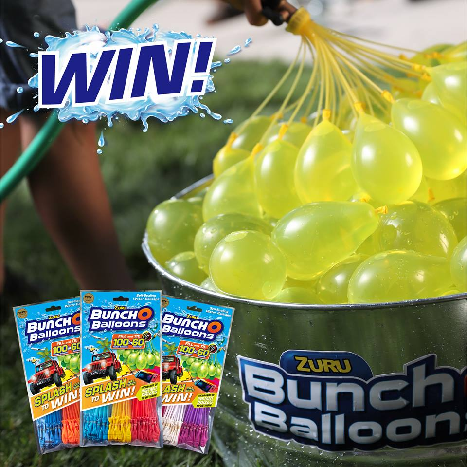 bunch o balloons giveaway