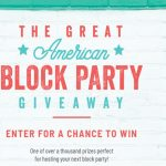 The Great American Block Party Sweepstakes & Instant Win Game