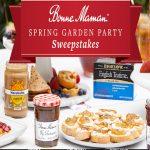 The Bonne Maman Garden Party Sweepstakes