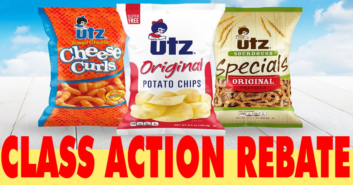 UTZ Quality Foods Class Action Settlement - Julie's Freebies