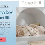 The Traditional Home Layers of Linen Sweepstakes with Garnet Hill