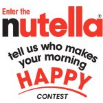"""Nutella """"Who Makes Your Morning Happy?"""" Sweepstakes"""