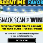 Nabisco Screentime Favorites Sweepstakes & Instant Win Game
