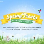Topcashback Spring Treats Instant Win Game & Sweepstakes