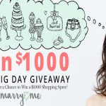 """Your Big Day"" $1,000 Monthly Giveaway"