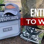 WIN a Yeti Cooler & American Hero Adventures Swag!