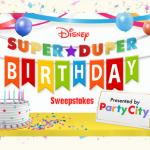 Disney's Super Duper Birthday Sweepstakes