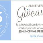 Annie Selke 25th Anniversary Giveaway