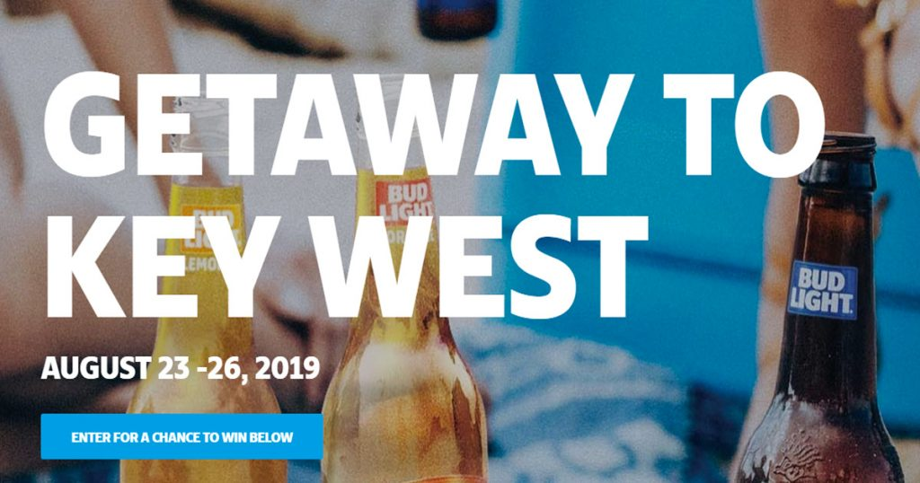 Bud Light Getaway Sweepstakes - Julie's Freebies