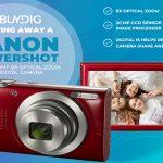 Buydig Canon PowerShot Camera Giveaway