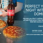 $15 Domino's Gift Card Instant Win Game