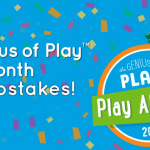 """Genius of Play """"Play All May"""" Sweepstakes"""
