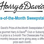 Harry & David Prize of the Month Sweepstakes