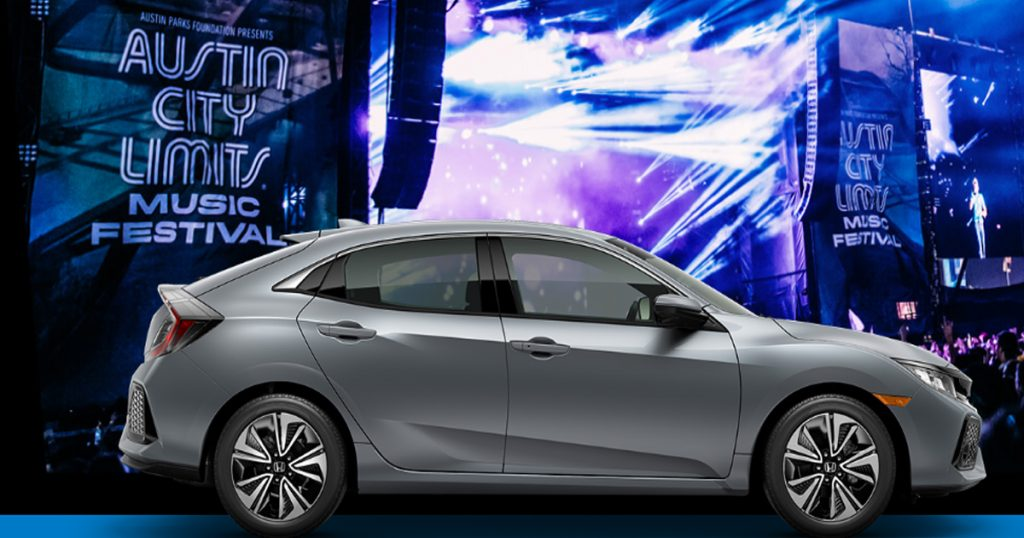 The 2019 Honda Stage at Music Festivals Sweepstakes