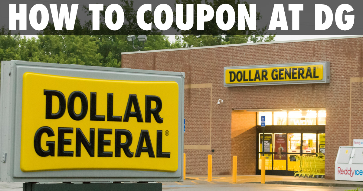 Learn Everything You Need To Know About Couponing At Dollar General