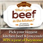 """Keystone Meats """"What's Your Beef"""" Sweepstakes"""