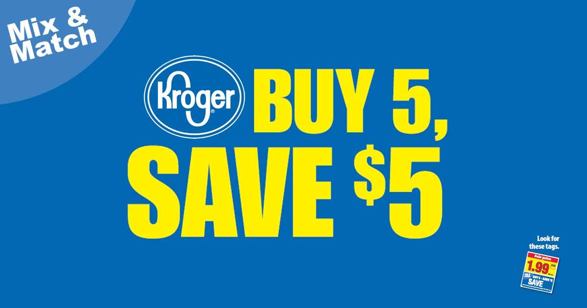What S A Kroger Mega Sale Julie S Freebies