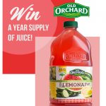 Old Orchard Year Supply of Juice Giveaway