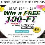 Pocket Hose Silver Bullet Giveaway