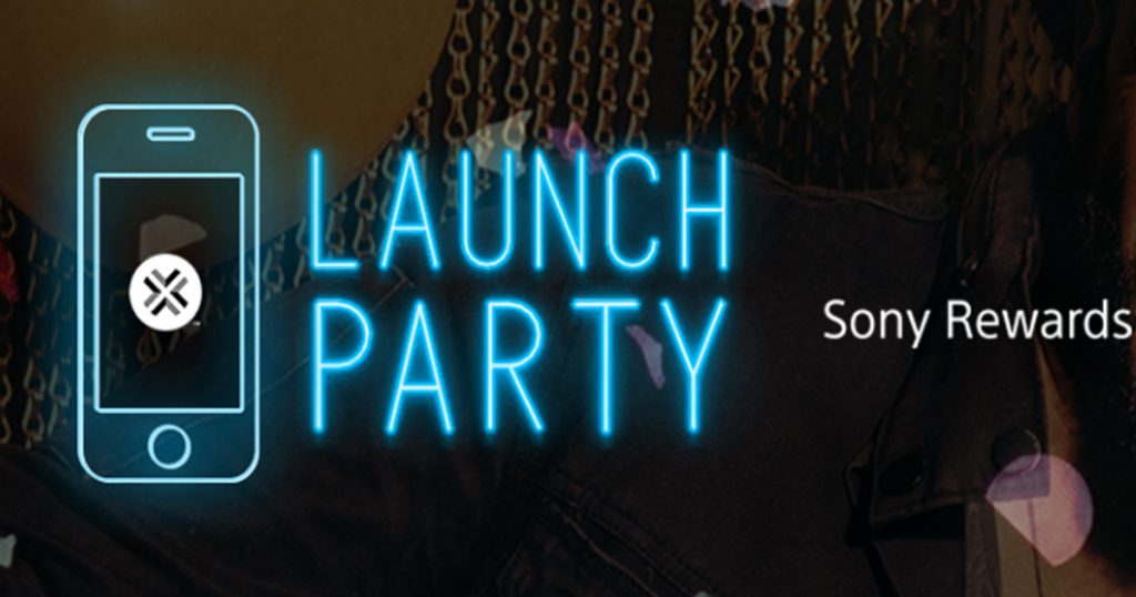 The Sony Rewards Launch Party Sweepstakes and Instant Win
