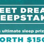 Sweet Dreams Sweepstakes