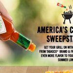 The TABASCO America's Cookout Sweepstakes