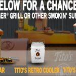Tito's Smokin' Summer 2019 Sweepstakes