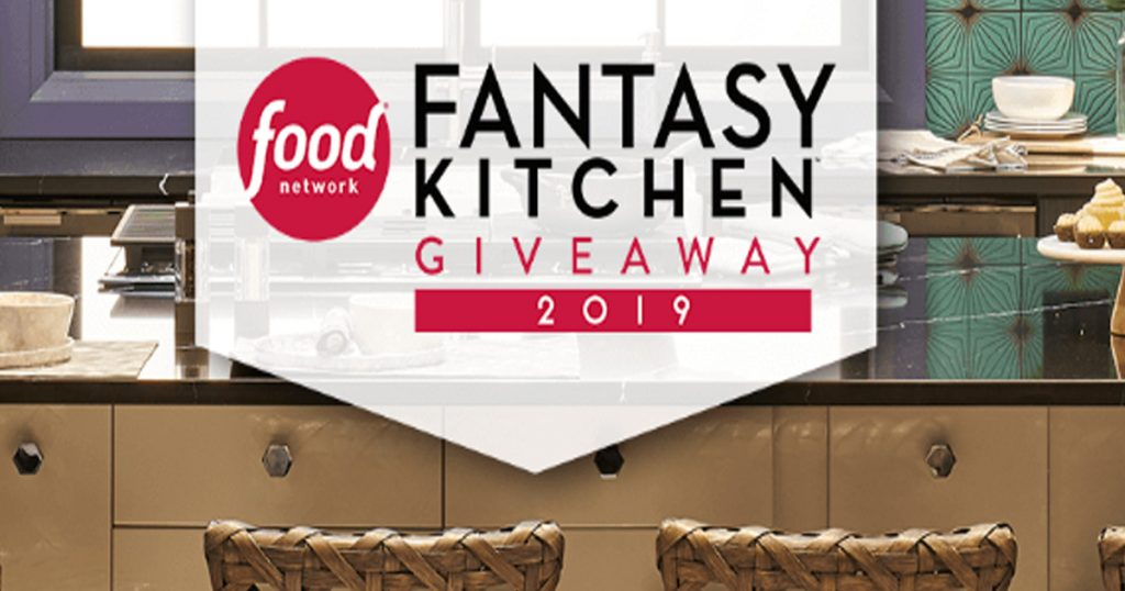 Food Network Fantasy Kitchen Sweepstakes 2019 - Julie's Freebies