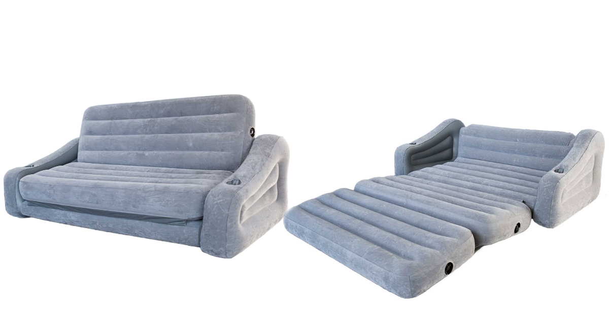 Incredible Intex Inflatable 2 In 1 Pull Out Sofa Couch Only 19 99 At Caraccident5 Cool Chair Designs And Ideas Caraccident5Info