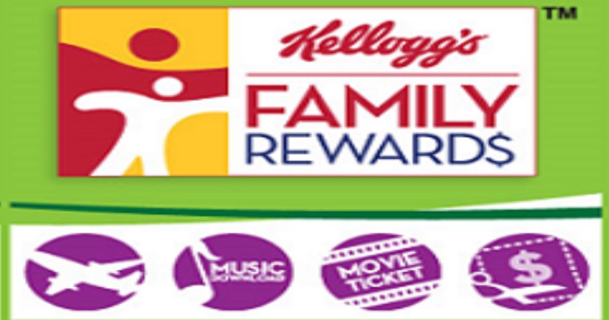 Free Kelloggs Family Rewards Point Codes