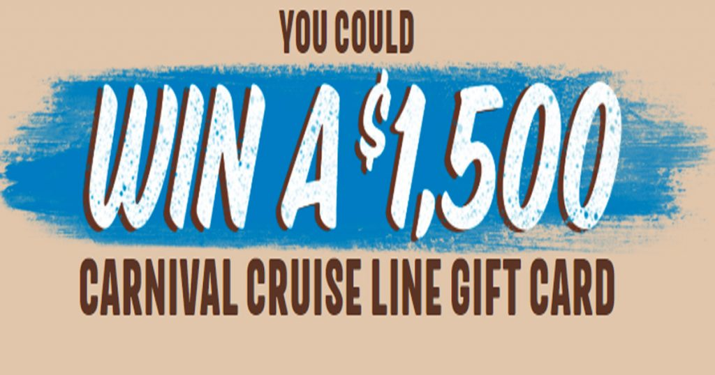 carnival cruise giveaway 2019