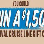 Hershey's/Almond Joy Cruise Sweepstakes