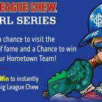 Big League Chew Hall of Fame Bubble Gum Sweepstakes & Instant Win Game