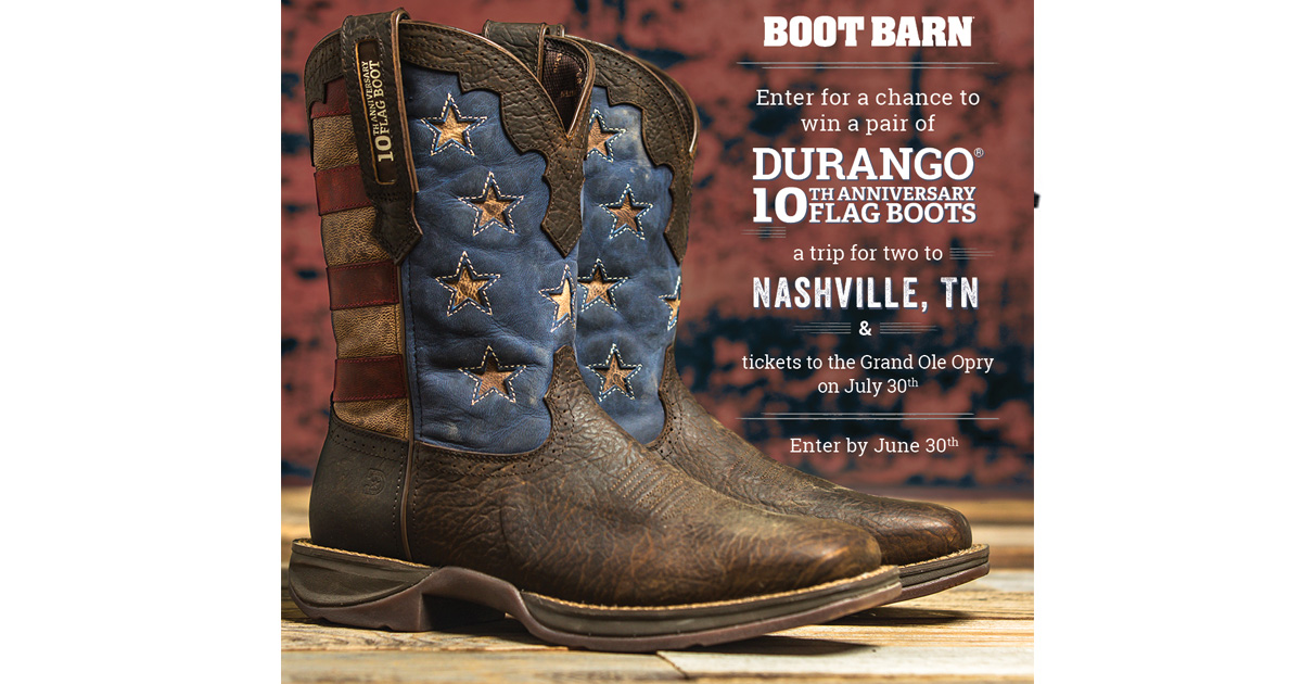 Choctaw 2019 boot giveaway