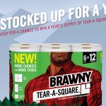 The Brawny Tear-A-Square Summer Sweepstakes