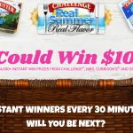 """Challenge $10,000 """"Real Summer, Real Flavor"""" Instant Win & Sweepstakes"""