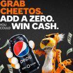 Grab a Cheetos. Add a Zero Sweepstakes