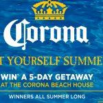 The 2019 Corona Let Yourself Summer Sweepstakes