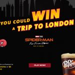 Dr Pepper/Sodexo Spider-Man: Far From Home Sweepstakes & Instant Win Game