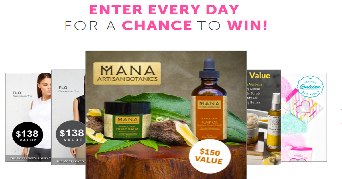 spa contests giveaways