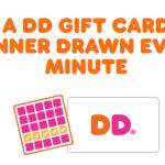 Dunkin' Bingo Instant Win Game