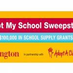 Burlington's Adopt My School Sweepstakes