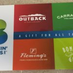 $25 Bloomin' Brands Gift Card Instant Win Game