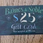 $250 Barnes & Noble Gift Card Sweepstakes
