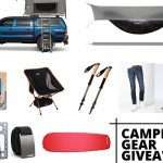 2019 Camping Gear Giveaway