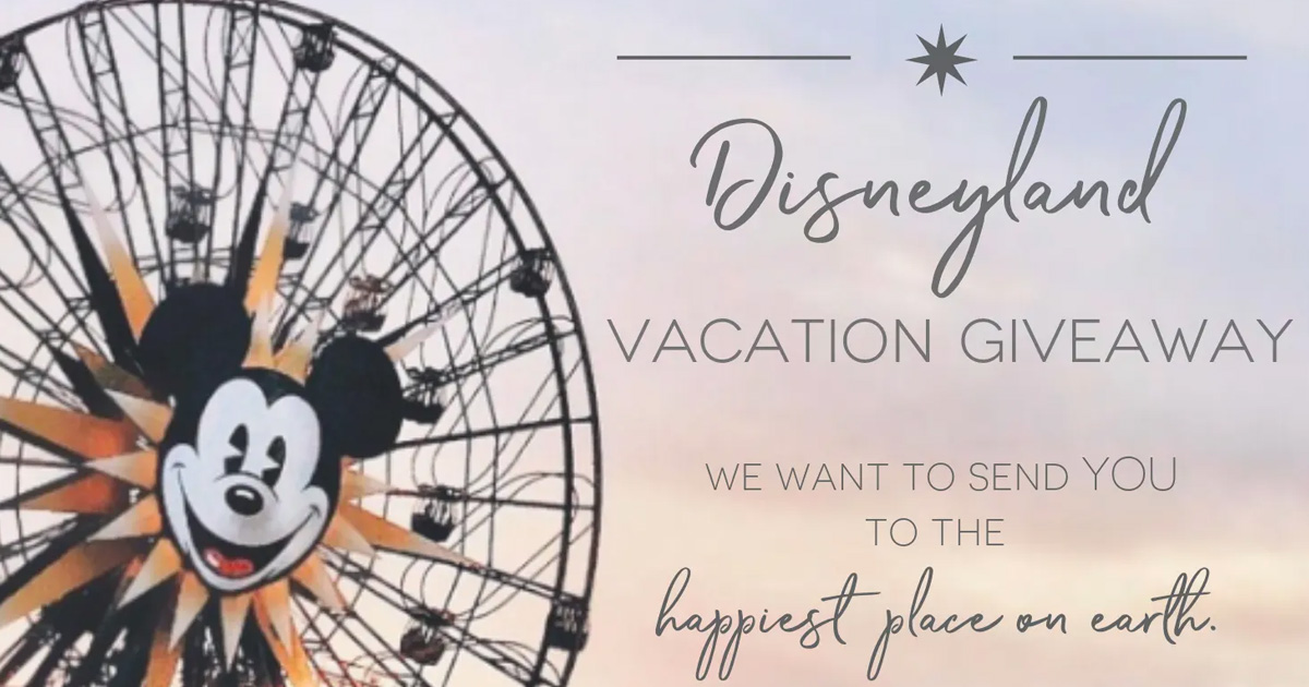 wogl vacation a day giveaway disneyland vacation giveaway julie s freebies 7408