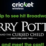 Harry Potter & The Cursed Child in New York Sweepstakes