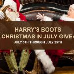 Harry's Boots Christmas in July Giveaway